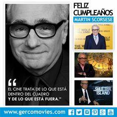 Genio, talento e inspiración. Celebramos 73 años del nacimiento del director #MartinScorsese