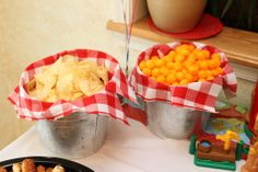 "This would be a great way to serve snacks at a horse riding party. Photo 1 of Farm, Barnyard / Birthday ""Buster's Barnyard Birthday Bonanza"" Cowgirl Party, Horse Party, Cowgirl Birthday, Farm Birthday, First Birthday Parties, Birthday Ideas, Country Birthday, Birthday Banners, 1st Birthdays"