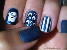 31 Day Nail Art Challenge day 29 Inspired by the Supernatural