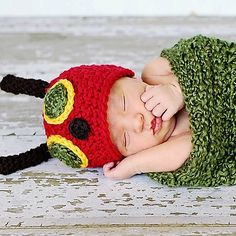 Ravelry: Hungry Caterpillar Hat and Cocoon pattern by Becky Dossey