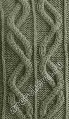 cable pattern - knitting stitch   #cables