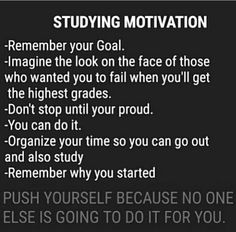 10 ways to motivate yourself to study smarter Acknowledge your resistance and difficult feelings with motivation It may be helpful to… Exam Motivation, Study Motivation Quotes, Student Motivation, Motivation Pictures, Powerful Motivational Quotes, Positive Quotes, Inspirational Quotes, Reality Quotes, Life Quotes