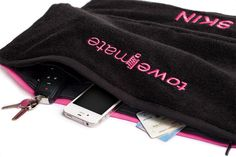Fitness Towel with Germ Shield