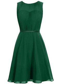 Cdress Sleeveless Chiffon Cowl Short Bridesmaid Dresses Wedding Prom Party Gowns Dark_Green US 12 Cdress http://www.amazon.com/dp/B01CL0K0ZQ/ref=cm_sw_r_pi_dp_vLMfxb1S6JYA5