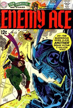 Star Spangled War Stories 143 - Enemy Ace - Joe Kubert
