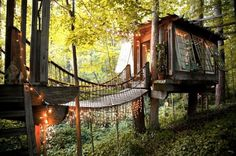 Live Out Your Fairytale Fantasy in This Dreamy Treehouse Airbnb in Atlanta | Inhabitat - Sustainable Design Innovation, Eco Architecture, Green Building