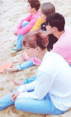 Kai, Chen, Sehun e Suho EXO ❤