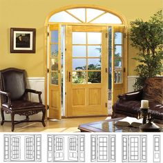 Venting Patio Doors tradition plus wood swinging patio door venting sidelights