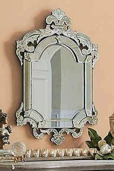 San Marco Mirror Expertly cut, deeply etched and multi-layered. These are just a few of the special qualities of Venetian glass mirrors made in the time-honored tradition. But