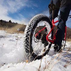 Snow Day. #FatBoy www.specialized/FatBoy #iamspecialized #fatbike