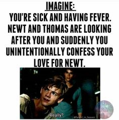 OMG if Thomas liked you 2, there would be so much drama #MazeRunnerSoapOpera: