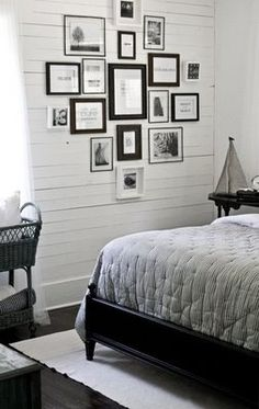 Spare Bedroom - pic & inspiration wall
