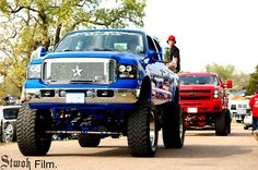 """Wow - And everybody said """"Thank you God for big trucks and country boys."""""""