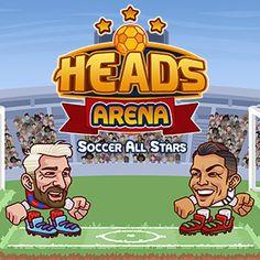 Veel plezier met het spelen van Heads Arena Soccer All Stars, een gratis voetbal spelletje!
