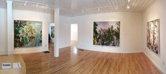 CYNTHIA-REEVES gallery in Walpole, New Hampshire, with Allison Gildersleeve's paintings