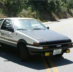 Jdm, Initial D Car, Drifting Cars, Ae86, Muscle Cars, Initials, Racing, Anime, Couple Things