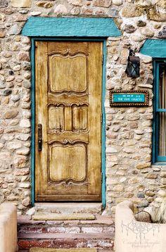 Doorway at Inn of the Five Graces in Santa Fe NM                                                                                                                                                                                 More