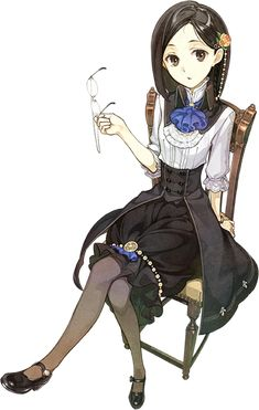 Marion Quinn is a supporting character in Atelier Ayesha: The Alchemist of Dusk and Atelier. Character Concept, Character Art, Concept Art, Atelier Series, Vampires, Chibi, Image Manga, Character Design References, Character Design Inspiration