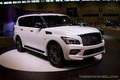 #Infiniti QX80 Limited at the 2015 #Chicago Auto Show | The News Wheel #CAS2015 #FuelCAS