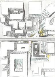 លទ្ធផលរូបភាពសម្រាប់ birds eye view perspective drawing