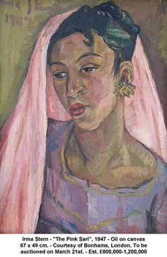 Irma Stern Paintings Lead Bonhams South Africa Sale, Beautiful Work!  Suzanne @ Maisonette de Madness onto Art Exhibitions & Art News 2012