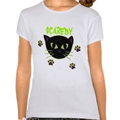 Scaredy Cat Halloween T-shirt