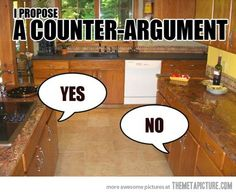 UM of Humor: Counterargument | Unexpected Moments of Life