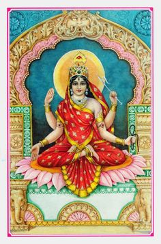 Bhuvaneshwari - all beings are ornaments on her infinite being