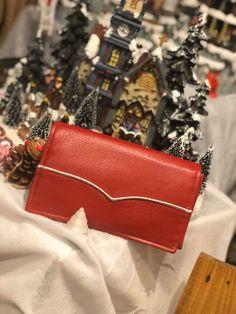 Portefeuille Complice simili rouge cousu par Céline - Patron Sacôtin