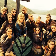 The shield-maidens of Vikings are sending you love. Team Lagertha - katherynwinnick's photo on Instagram