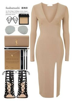 """""""August 17, 2015"""" by inescanas ❤ liked on Polyvore featuring Rare London, Gianvito Rossi, Dogeared, Christian Dior, MAC Cosmetics, NARS Cosmetics, Acne Studios and Yves Saint Laurent"""