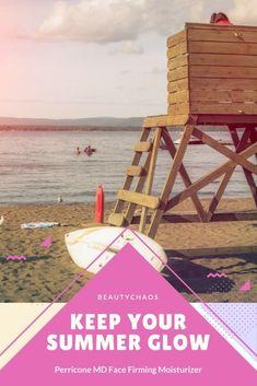 Keep Your Summer Skincare Glow | Perricone MD Face Finishing Moisturizer | BeautyChaos.com #skincareroutine #skincareproducts #summer