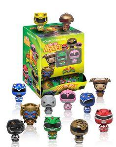 Mighty Morphin' Power Rangers Pint Size Heroes figures by Funko Pop Figures, Vinyl Figures, Action Figures, Mystery Minis, Funko Pop, Mini Figure Display, Rita Repulsa, Green Ranger, Action Toys