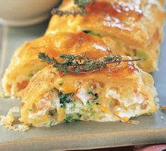 Colorful vegetable strudel with QimiQ More from my sitePuff pastries What you need for the skewers: – Puff pastry -…Turkey Roll Ups Recipe (Costco Copycat) Healthy Party Snacks, Healthy School Snacks, Healthy Toddler Snacks, Healthy Meals To Cook, Healthy Snacks For Diabetics, Toddler Food, Budget Freezer Meals, Cooking On A Budget, Frugal Meals