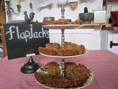 The Grey Hair Granny: Yummy Flapjacks