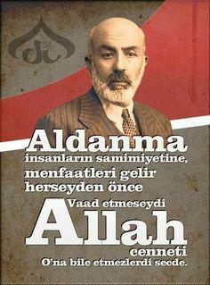 #Üstat #MEHMETAKİFERSOY Humour And Wisdom, Wisdom Quotes, Life Quotes, Good Sentences, Islam Muslim, Karma, Allah, Good Things, History
