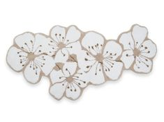 Get some flower power in your bathroom with this Sakura bath mat from Abyss & Habidecor. Stunning in design, it features an oversized cherry blossom design in beautiful white and neutral shades. Cherry Blossom Tree, Blossom Trees, Large Baths, Sakura, Bath Rugs, Bath Accessories, Neutral Colors, Flower Power, Really Cool Stuff