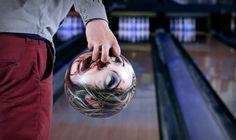 I wanna a zombie bowling ball!!! *--*