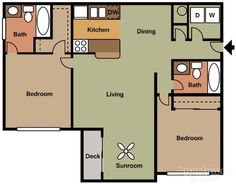 Gardenwood Apartments - College Park, GA 30349 | Apartments for Rent $665