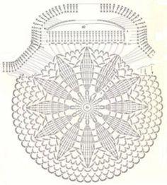 grafico de mandala a crochet 1
