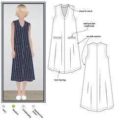 71e79df84fc Vivienne Designer Frock · Shift Dress PatternKate DressDress Making Patterns Clothing PatternsPlus Size Sewing PatternsDiy ...