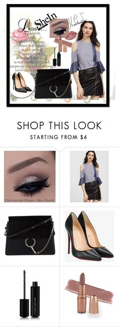 """""""Shein"""" by mustafa-saric ❤ liked on Polyvore featuring Chloé, Christian Louboutin, Marc Jacobs and Lime Crime"""