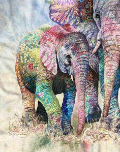 Sophie Standing, textile art
