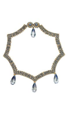 Jewelry Design - Collar-Style Necklace with Swarovski Crystal and Seed Beads - Fire Mountain Gems and Beads