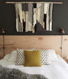 Mae Woven African Mudcloth pillows. maewoven.etsy.com #maewoven