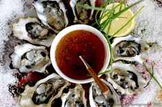Kusshi's and mignonette