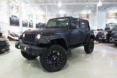 jeep wrangler lift kits   Jeep Wrangler UNLIMITED SAHARA 4X4 WRAP CARBON FIBER LIFT KIT MAGS 20 ...