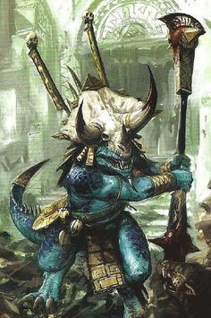 lizardmen skinks art - Google Search