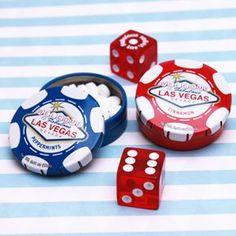 Las Vegas Poker Chip Mint Tins