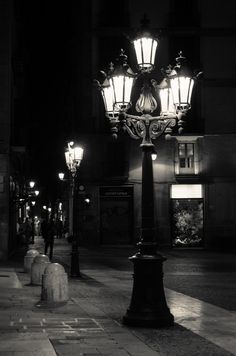 BCN at Night by Ernst Gamauf